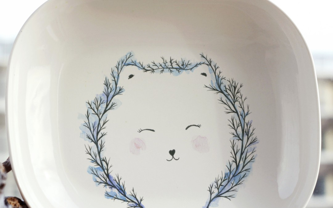 Forest Bear plate