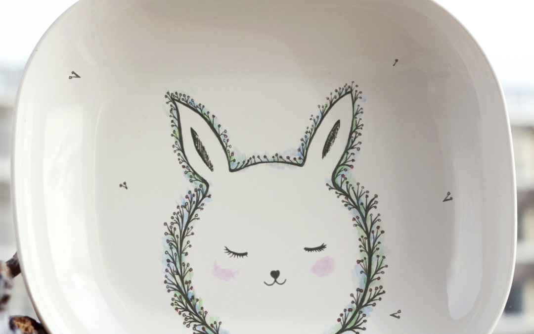 Forest Rabbit plate