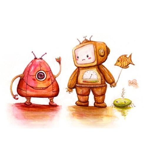 Robots Private Talk