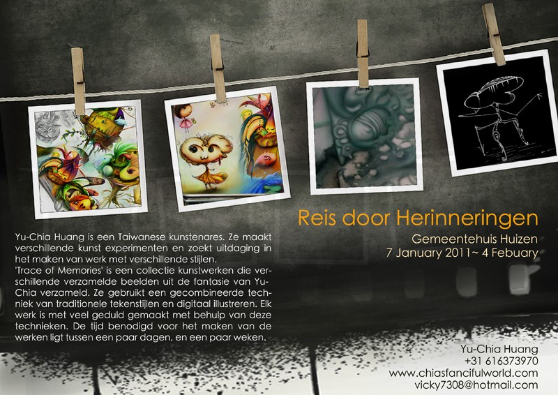 Journey through Memory in Huizen, January 2011