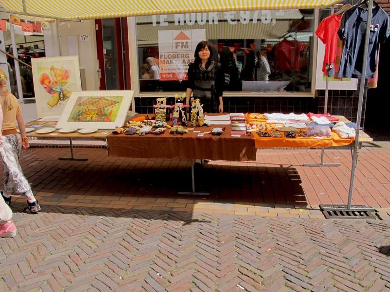 Market Koninginnedag Bussum  2012